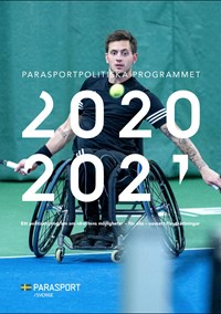 Parasportpolitiskt program.